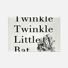 Alice in Wonderland- Twinkle Rectangle Magnet (10