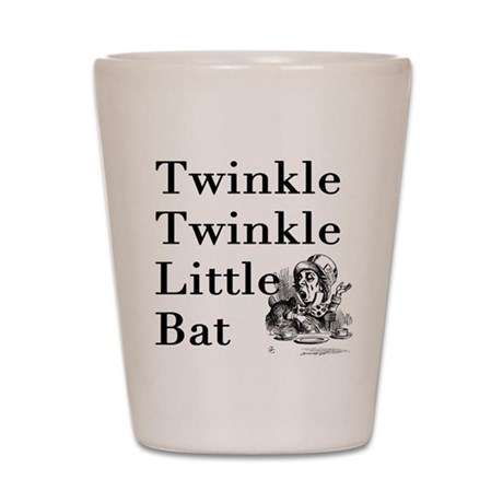 Alice in Wonderland- Twinkle Shot Glass
