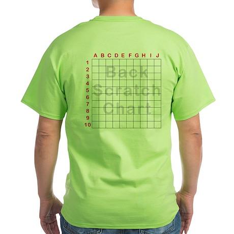 Back Scratch Green T-Shirt