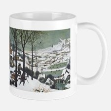 Hunters in the Snow Mug