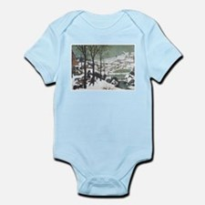 Hunters in the Snow Infant Bodysuit