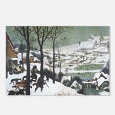 Hunters in the Snow Postcards (Package of 8)