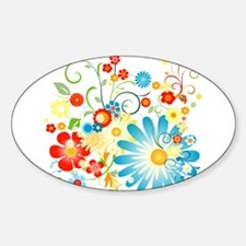 Floral explosion of color Decal