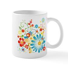 Floral explosion of color Mug