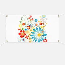 Floral explosion of color Banner