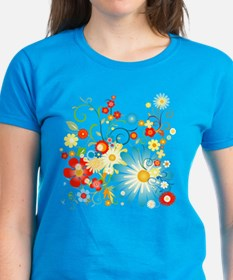 Floral explosion of color Tee