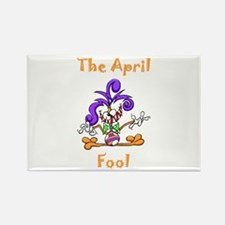The April Fool Rectangle Magnet