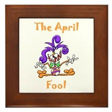 The April Fool Framed Tile