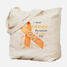 I Wear Orange Because I Love My Son Tote Bag