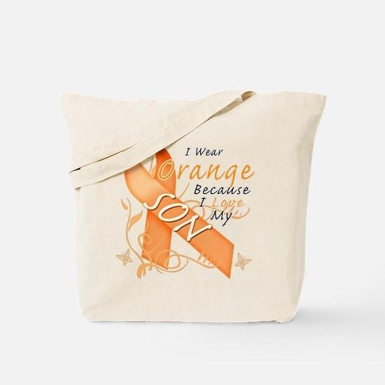 I Wear Orange Because I Love My Son Tote Bag