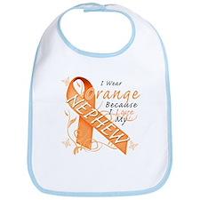I Wear Orange Because I Love My Nephew Bib