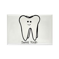 'Sweet Tooth' Rectangle Magnet