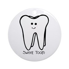 'Sweet Tooth' Ornament (Round)