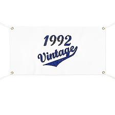 Cute 1992 Banner