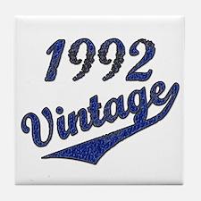 Funny Vintage 1992 Tile Coaster