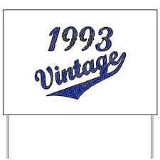 Unique 1993 Yard Sign