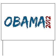 COOL OBAMA 2012 Yard Sign