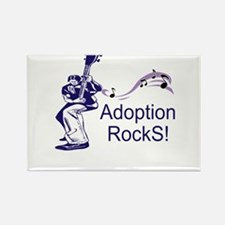 Support Adoption Rectangle Magnet (10 pack)