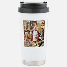 Vintage Nurse Collage Travel Mug