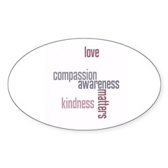 Kindness Matters Decal