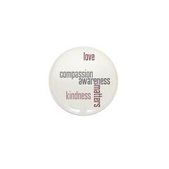 Kindness Matters Mini Button (10 pack)