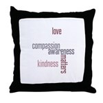Kindness Matters Throw Pillow