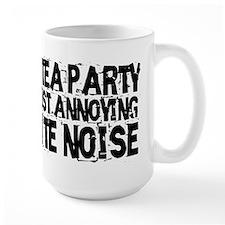 Tea party is white noise Mug