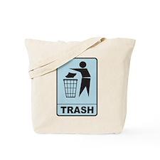 Trash Tote Bag
