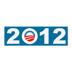 O in 2012 Obama Icon 21x7 Wall Peel