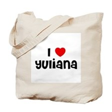 I * Yuliana Tote Bag