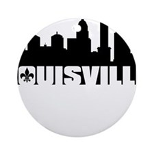 Louisville Skyline Ornament (Round)