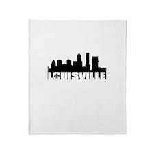 Louisville Skyline Throw Blanket