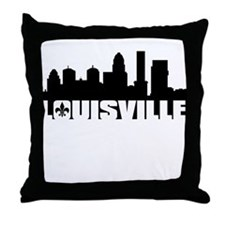 Louisville Skyline Throw Pillow