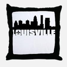 Louisville Skyline Throw Pillow