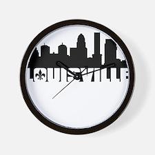 Louisville Skyline Wall Clock