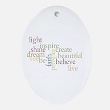 Kindness Matters Ornament (Oval)