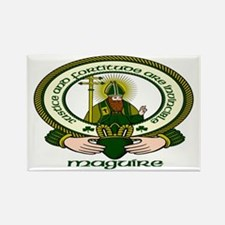 Maguire Clan Motto Rectangle Magnets (10 pack)