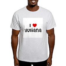 I * Yuliana Ash Grey T-Shirt