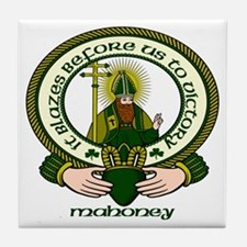 Mahoney Clan Motto Ceramic Tile