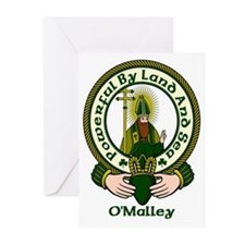 O'Malley Clan Motto Greeting Cards (Pk of 10)