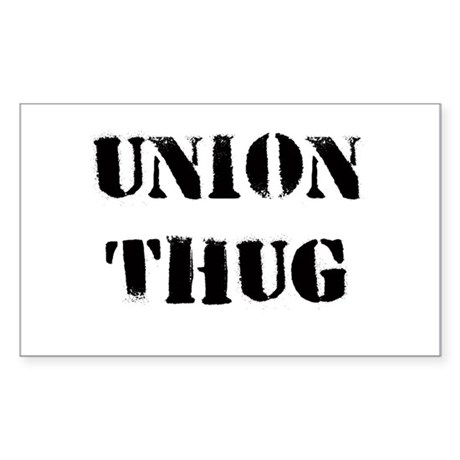 Original Union Thug Sticker (Rectangle)