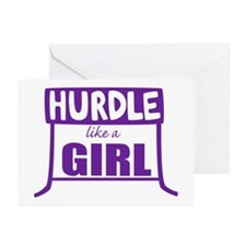 Like a Girl Greeting Cards (Pk of 20)