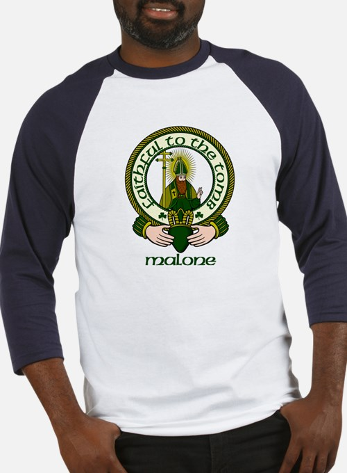 Malone Clan Motto Baseball Jersey