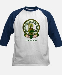 Malone Clan Motto Kids Baseball Jersey