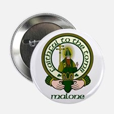 """Malone Clan Motto 2.25"""" Button (10 pack)"""