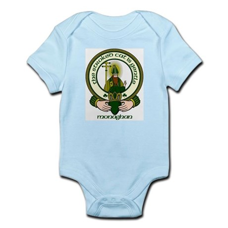 Monaghan Clan Motto Infant Creeper