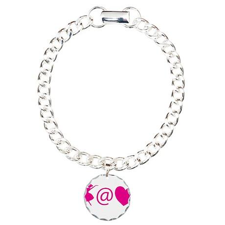 Dancer at Heart Charm Bracelet, One Charm
