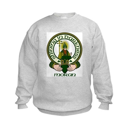 Moran Clan Motto Kids Sweatshirt