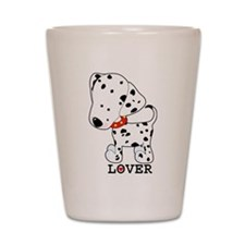 Dalmatian Lover Shot Glass
