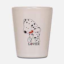 Dalmatian Lover Shot Glass